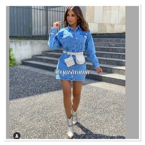 Zara leather belt bag bloggers favorite